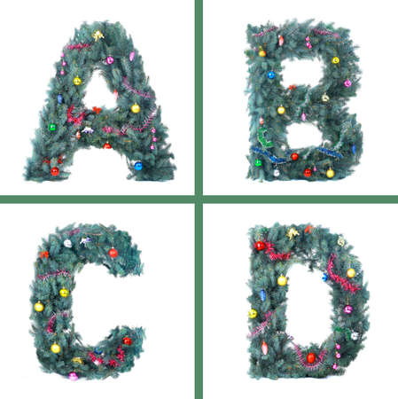 Nice Christmas Alphabet Stock Photo - 11148097