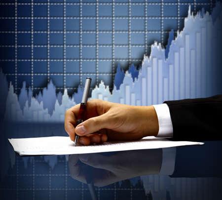 expertise: businessman Stock Photo