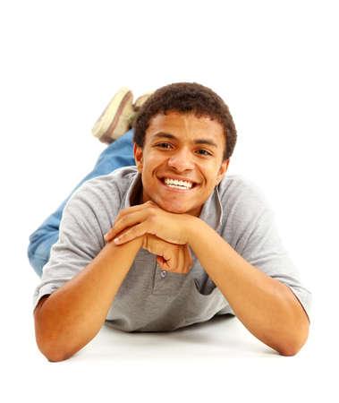 Happy Black Man Stock Photo - 11211403