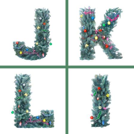 Nice Christmas Alphabet  photo