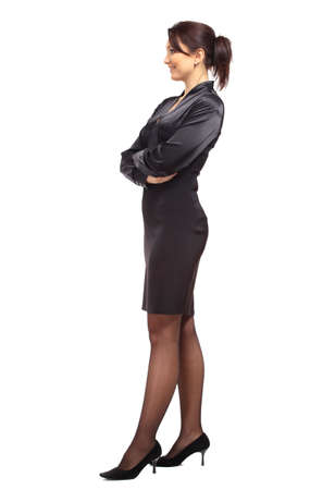 Full length image of a business woman posing photo