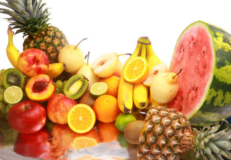 Ripe fresh fruit. Wholesome food. Stock Photo - 11315128