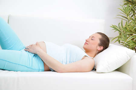 Portrait of mature pregnant female Stock Photo - 11315130