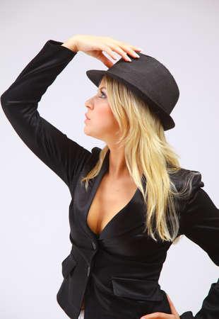 Cabaret showgirl  photo
