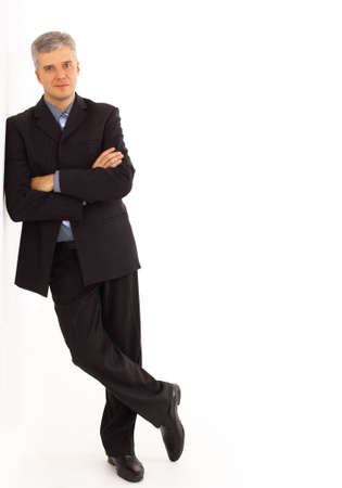 Portrait of a handsome young man in a business suit Stock Photo - 11315739