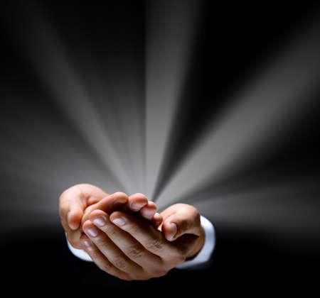 symbol ruky Reklamní fotografie