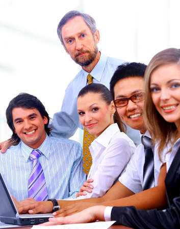 businessteam in offece  Stock Photo - 11639588