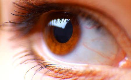 beautiful hazel eye photo