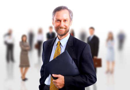 businessman isolated on white bacground  Stock Photo - 11639598