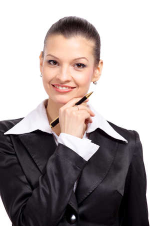 bussines: business woman Stock Photo