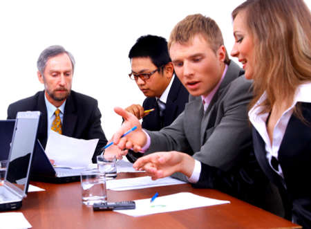 businessteam in offece  Stock Photo - 11669361