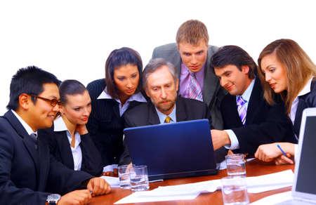 multi ethnic: business team  Stock Photo