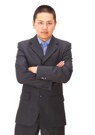 A good looking young asian businessman  Stock Photo - 11686414