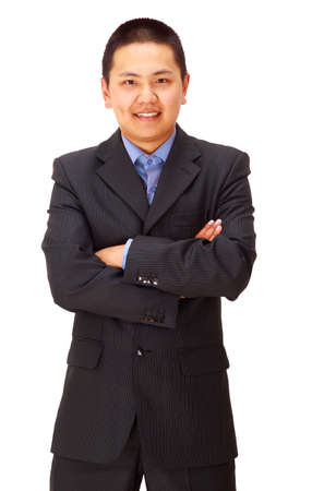 A good looking young asian businessman Stock Photo - 11686408