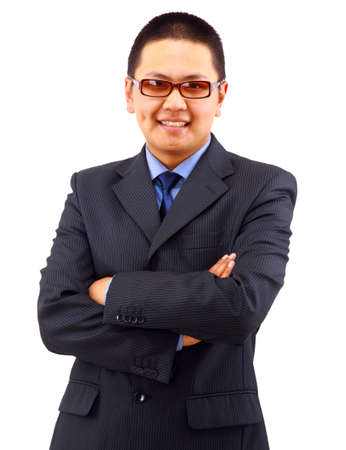 A good looking young asian businessman  Stock Photo - 11686283