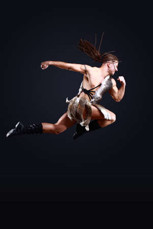 ballet hombres: vicing aislado más de fondo Bllack