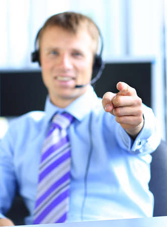 Portrait of young confident business man Stock Photo - 22102230