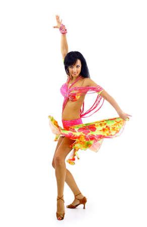 bailarinas arabes: Danza del vientre aislado en un fondo blanco