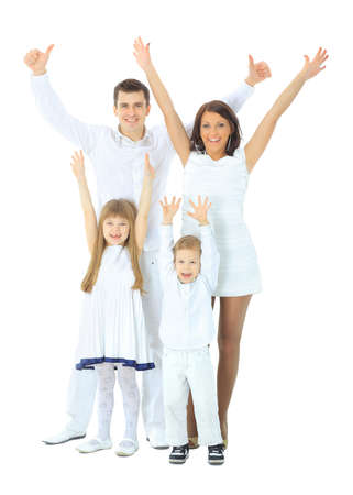 familia saludable: Familia feliz