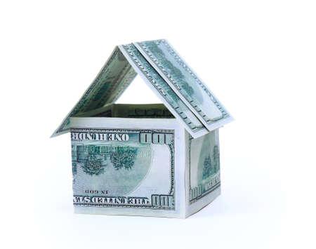 The house of money  Stock Photo