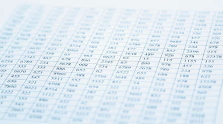 spreadsheets: checking balance - preparation of a balance sheet