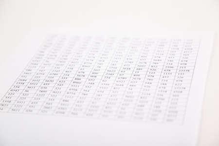 checking balance preparation of a balance sheet stock photo