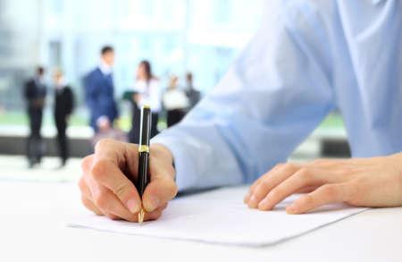 Empresario es la firma de un contrato