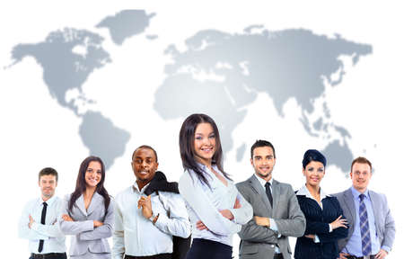�lite: Attraente giovani uomini d'affari - l'�lite business team