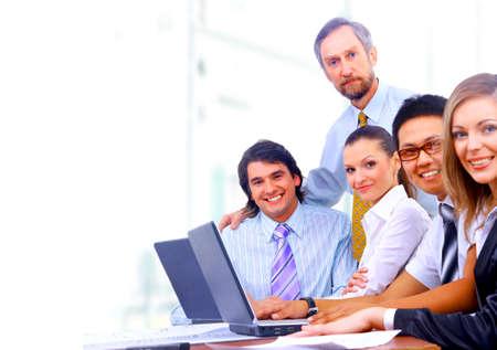 businessteam in offece  Stock Photo