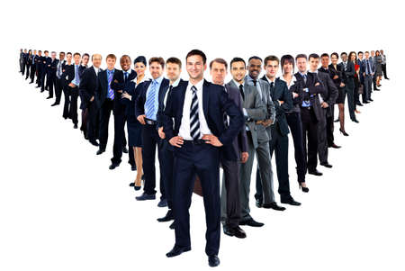 Large group of businesspeople Stock Photo - 29170030
