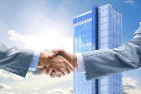 business handshake: Business Handshake Stock Photo