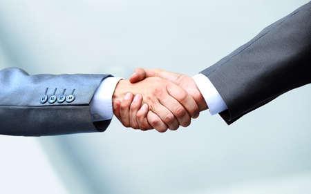 apreton de manos: Business handshake Foto de archivo