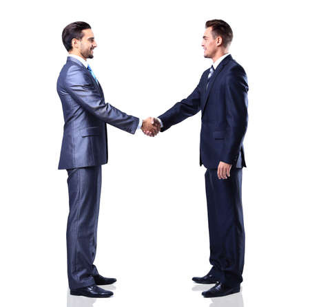 businessteamwork: business people shaking hands Stock Photo