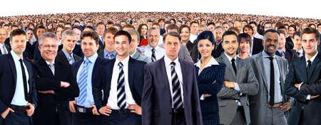 personas de pie: J�venes empresarios atractivo - el equipo de elite