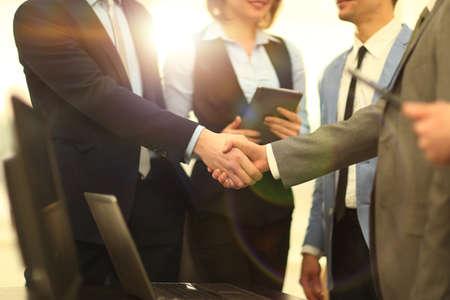Business handshake 스톡 콘텐츠