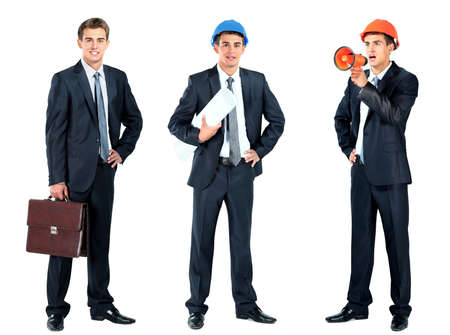 businessman with briefcase photo