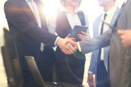 Business handshake Foto de archivo