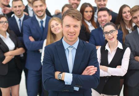 Globalny biznes, zarządzanie, Koncepcja połączenia i ludzi. Zespół business