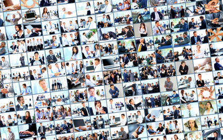collage from business picture photo