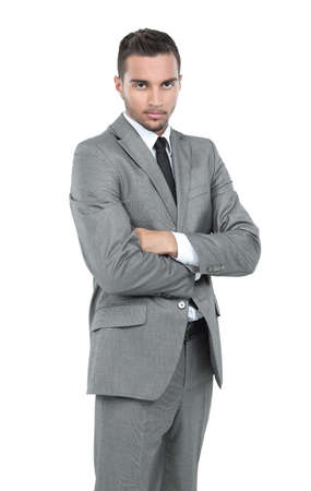 formals: Full length portrait of confident mature businessman in formals Stock Photo