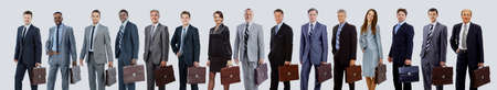 business people - the elite business team