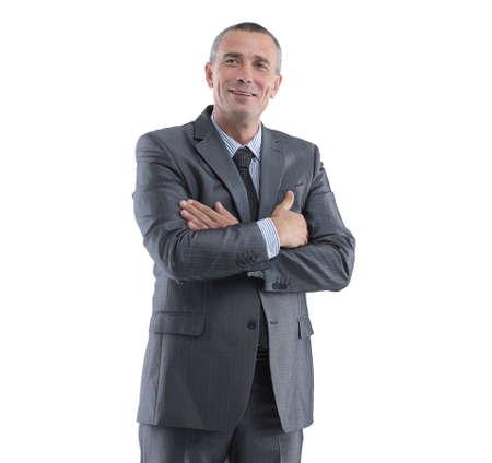 Portrait of a successful businessman. Stok Fotoğraf