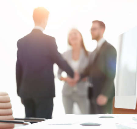 blurred image of the office. Standard-Bild