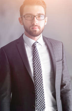 Portrait of a handsome business man Standard-Bild