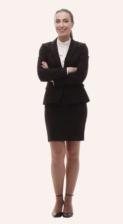 portrait of confident female Manager Stock Photo