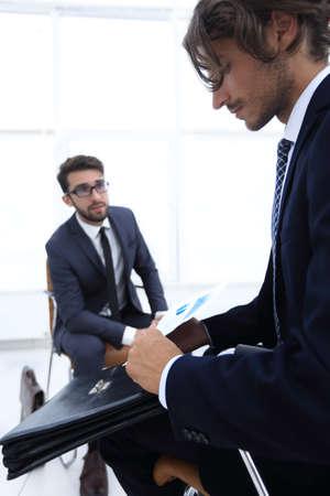 Meeting of business marketing target