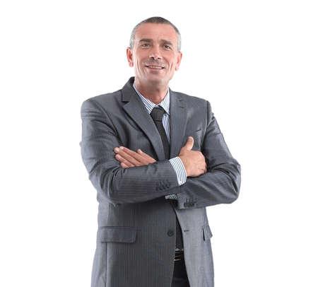 portrait of a successful businessman.i