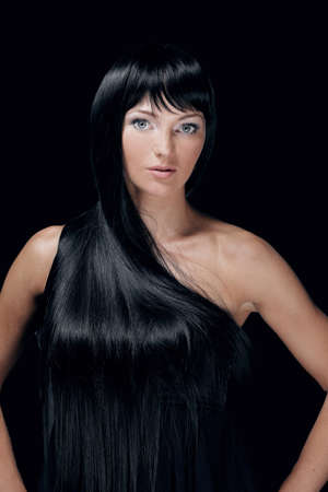 Beautiful Woman Spa Model. Stock Photo