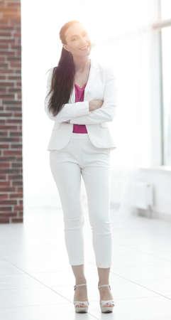 portrait of novice business women in office Stok Fotoğraf
