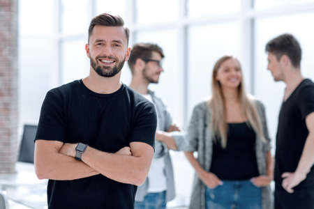 Group of human put their hands together